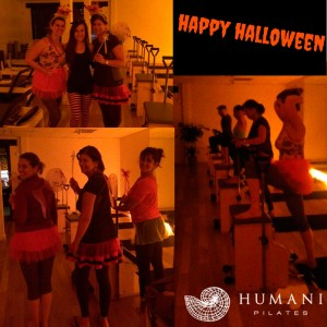 Happy Halloween from Humani Pilates Studio! And the Winner Is…