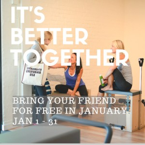 Bring Your Friends for Free in January