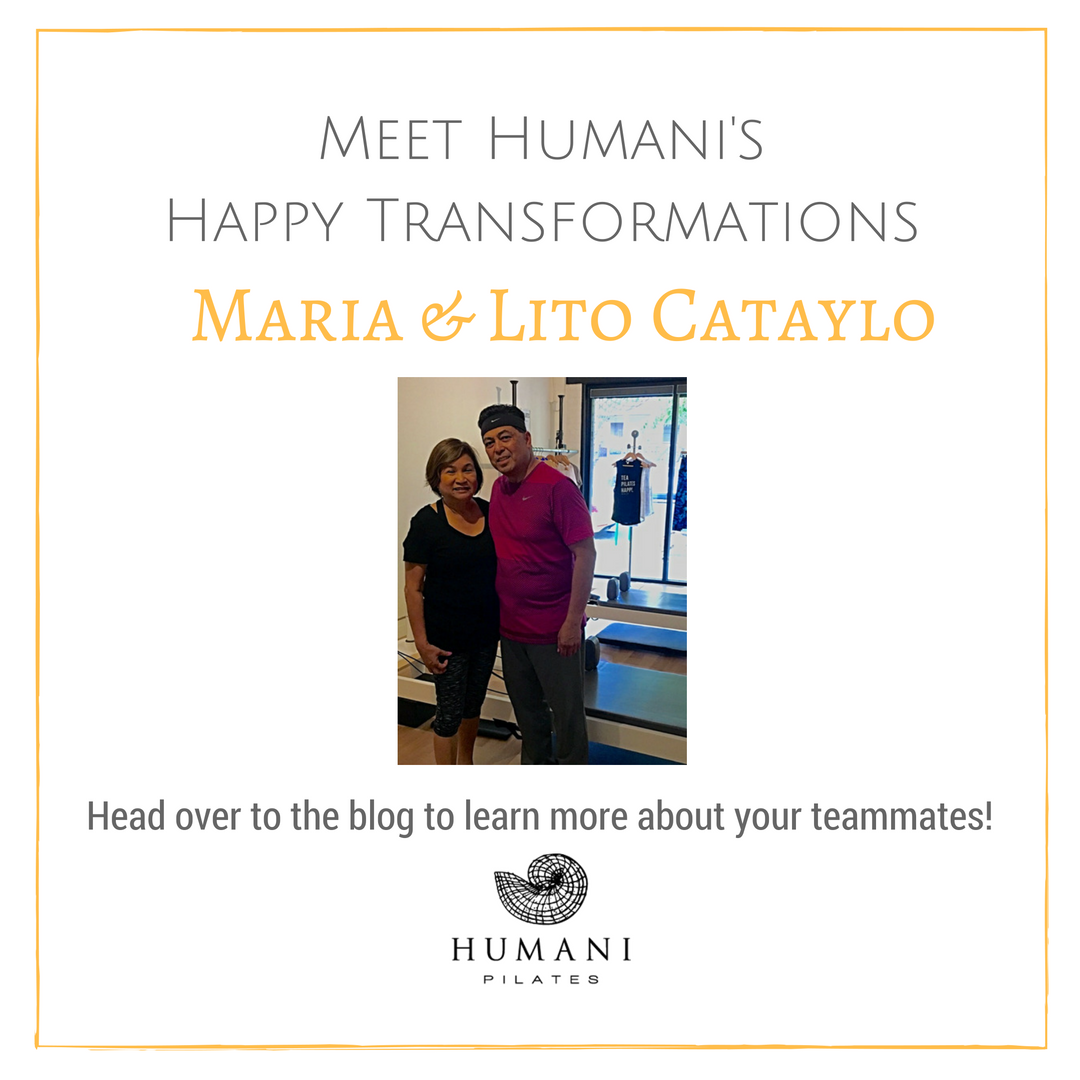 Learn more about your teammates's happy transformation at Humani Pilates.
