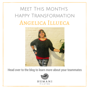 November Happy Pilates Transformation – Angelica Illueca